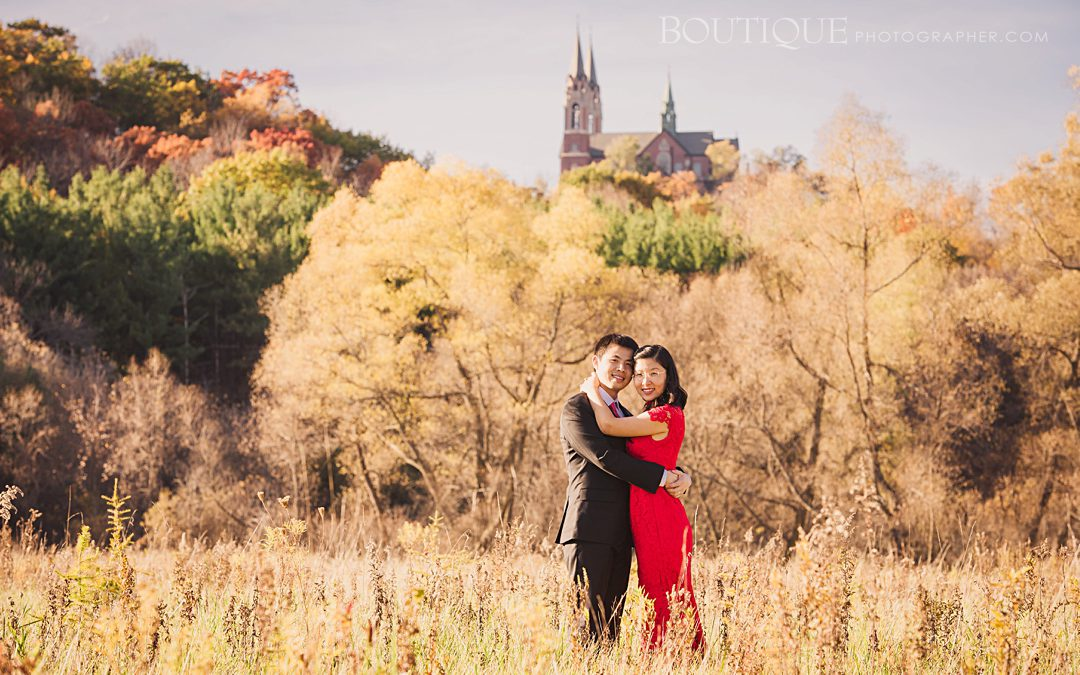 Holy Hill, Encore Session by Wisconsin Wedding Photographer